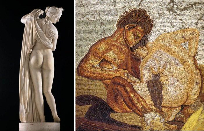 Интимная жизнь в Древней Греции и Риме.
